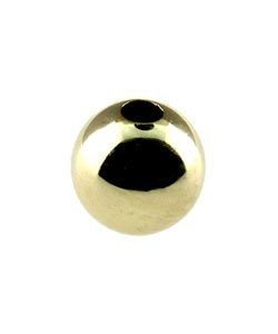 ABF-04 = Gold Filled Polished Add-A-Bead  4mm  (Pkg of 10)