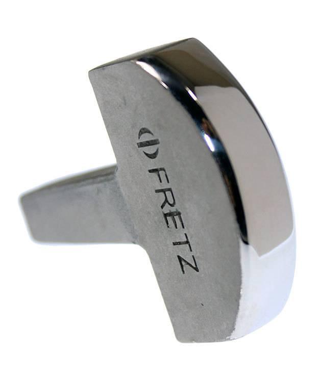 AN8229 = Fretz M-129 Narrow Flat Doming Bracelet Stake  1-7/16'' (36mm)