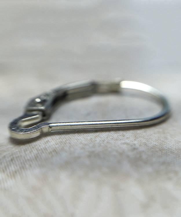 428S-04 = Leverback Plain Sterling Silver (Pkg of 6)