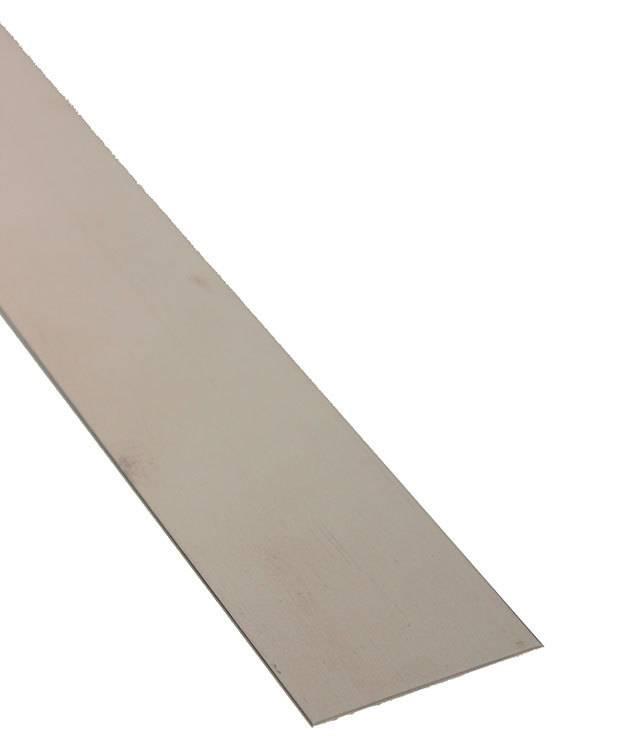 45.0316 = Stainless Steel Anode Strip 6'' x 1'' (26ga)