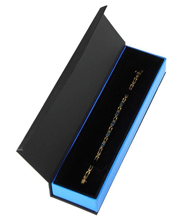 DBX4053 = Deluxe Magnetic Bracelet/Watch Box 8-3/4'' x 2-1/4'' x 1'' (Each)