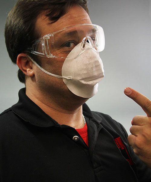 DC129 = Paper Filter Masks (Pkg of 50)