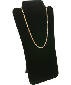 DCH1679 = VELVET NECKLACE EASELS  7-5/8''X12-1/2''H