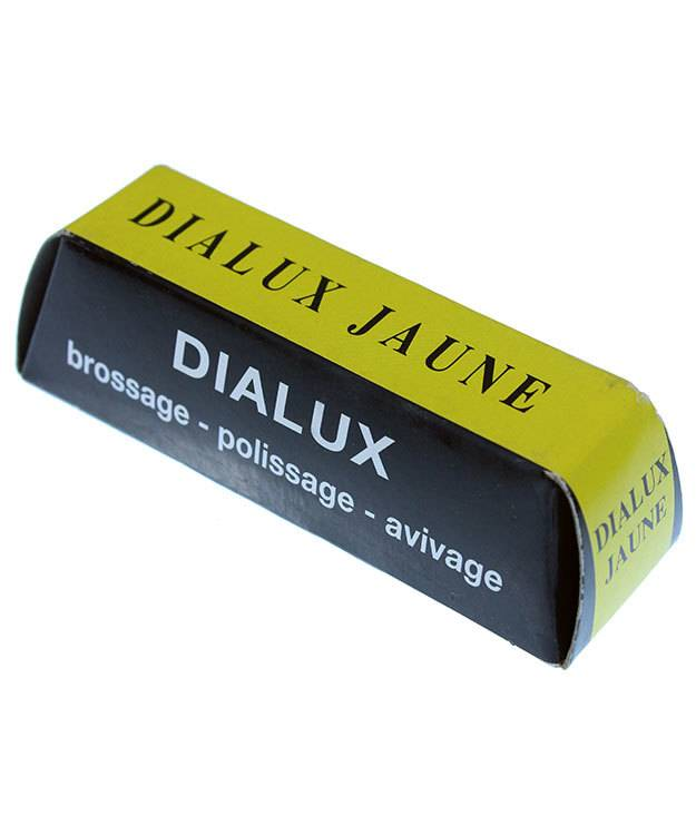 47.0246 = Dialux Yellow Compound for Bright Polish on Brass, Copper & Bronze
