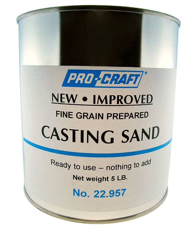 22.957 = SAND for CASTING 5lbs
