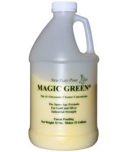 22.655 = MAGIC GREEN ULTRASONIC CONCENTRATE (2lb Bottle)