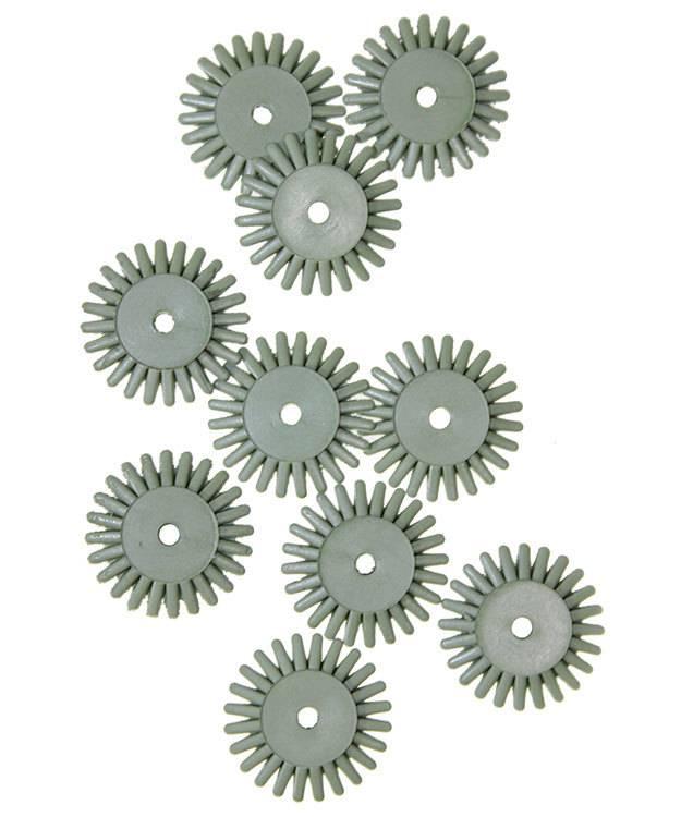 EVE Abrasives ST4014 = Eve Flex Twists Bristle Disc 4500grit Extra-Fine 5/8'' (Pkg of 10)