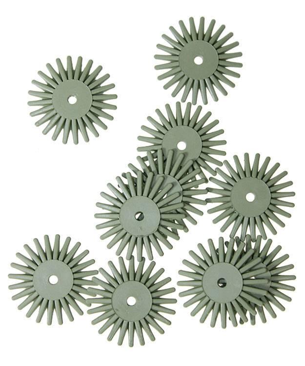 EVE Abrasives ST4004 = Eve Flex Twists Bristle Disc 4500grit Extra-Fine 3/4'' (Pkg of 10)
