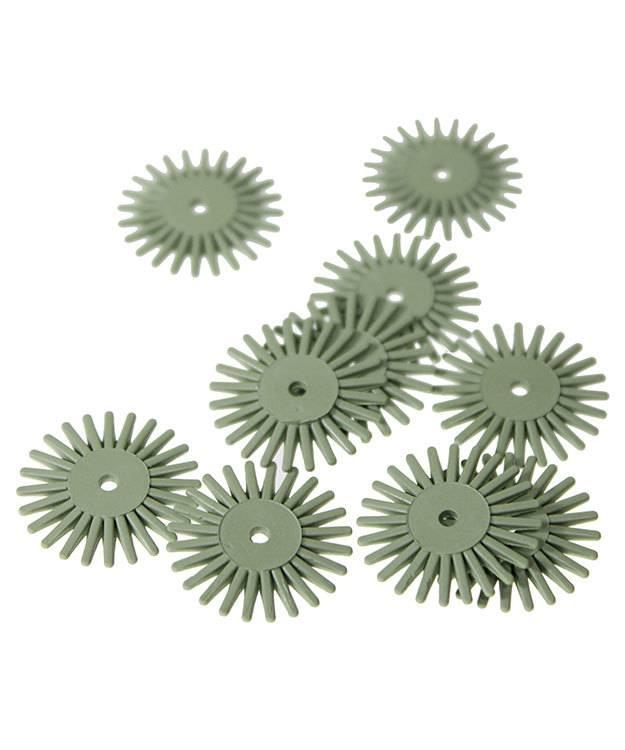 ST4004 = Eve Flex Twists Bristle Brush 4500grit Extra-Fine 3/4'' (Pkg of 10)