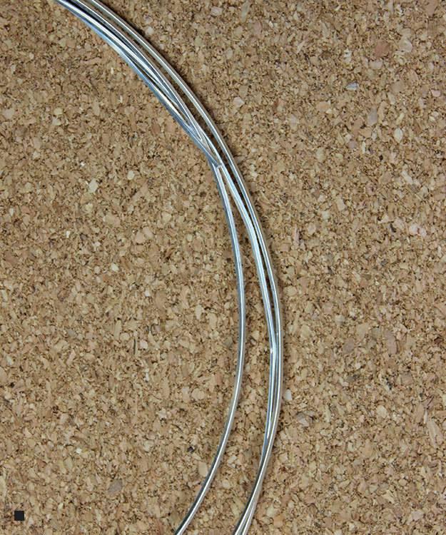 SSW21 = Square Sterling Wire 0.71mm 21ga Dead Soft Sold per foot