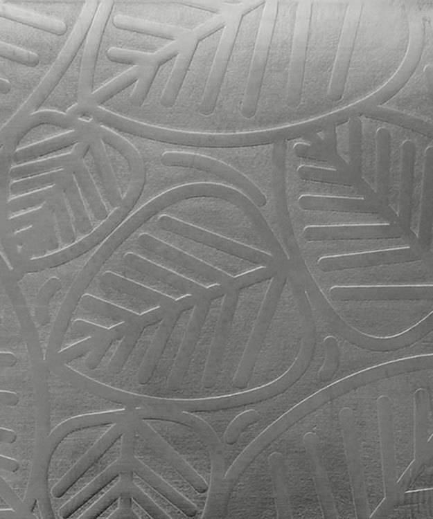 SSP3724 = Patterned Sterling Silver Sheet ''Leaves'' 2'' x 6'' 24ga