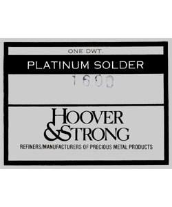 SPT1600 = SOLDER PLATINUM SHEET WEDLING