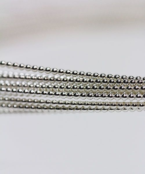 SBW13 = Sterling Beaded Wire 1.9mm 13ga  Dead Soft (Sold per foot)
