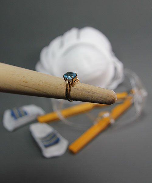 RN508 = Solid Wood Ring Mandrel