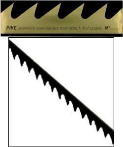 49.450D = Pike Brand Jewelers Swiss Sawblades #2 (Dozen)