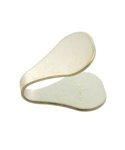 500-26 = Flat Chain End 6mm Wide 10K Gold