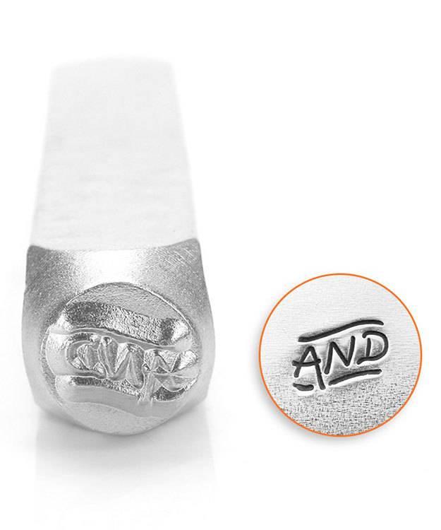 PN6530 = ImpressArt Design Stamp - ''And'' 6mm