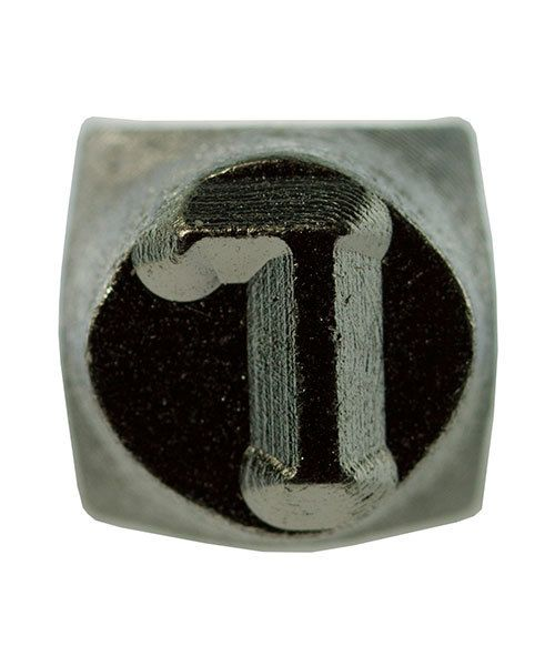 PN6484 = ImpressArt Design Stamp - Greek letter GAMMA 6mm