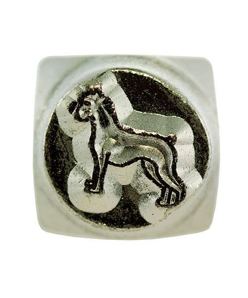 PN6473 = ImpressArt Design Stamp - dog-boxer 6mm