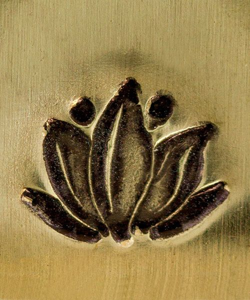 PN6429 = ImpressArt Design Stamp - lotus 6mm