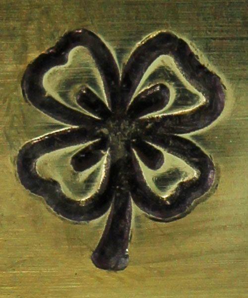 PN6425 = ImpressArt Design Stamp - 4 leaf clover 6mm