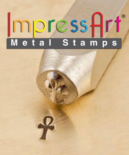 PN6297 = ImpressArt Design Stamp - ankh 6mm