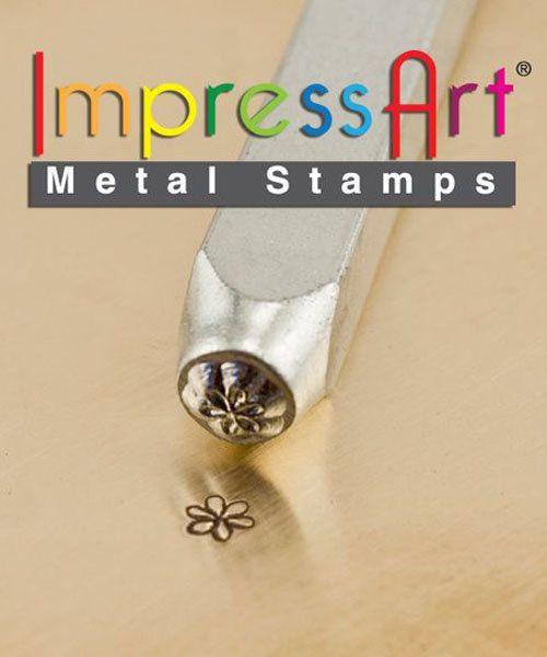 PN6283 = ImpressArt Design Stamp - whimsy flower 3mm