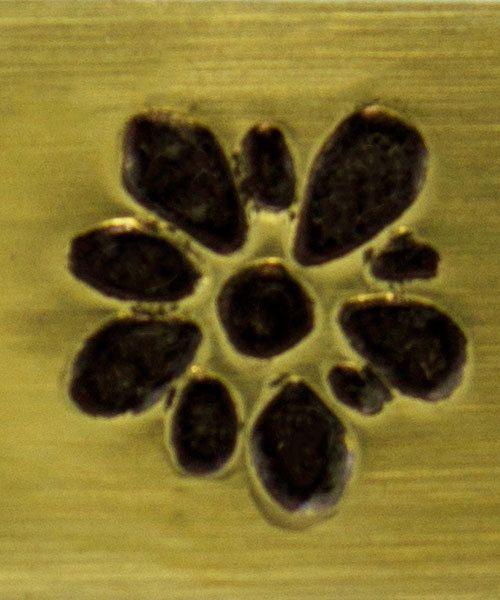 PN6272 = ImpressArt Design Stamp - gardenia 6mm