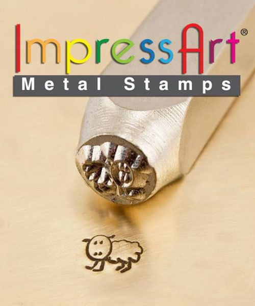 PN6255 = ImpressArt Design Stamp - lamb 6mm