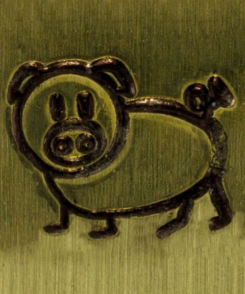PN6251 = ImpressArt Design Stamp - pig 6mm