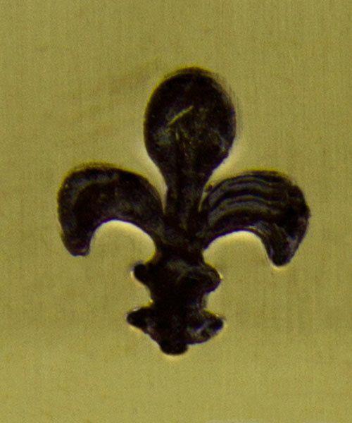 PN6249 = ImpressArt Design Stamp - fleur de lis 6mm
