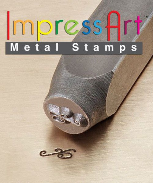 PN6233 = ImpressArt Design Stamp - flourish D 6mm