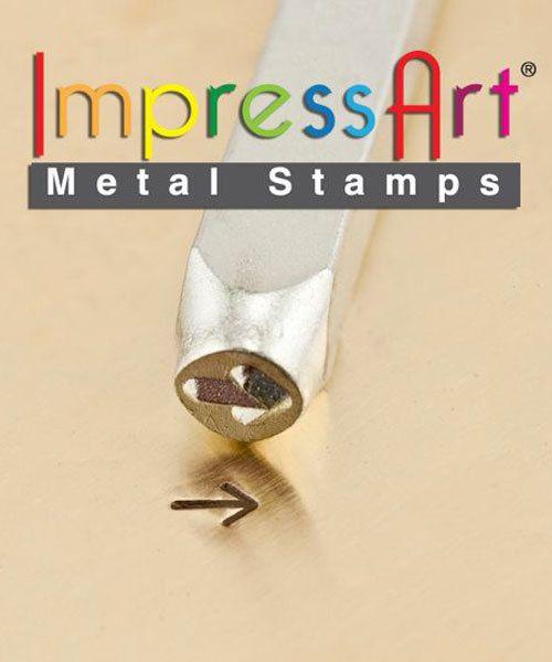 PN6221 = ImpressArt Design Stamp - arrow 3mm