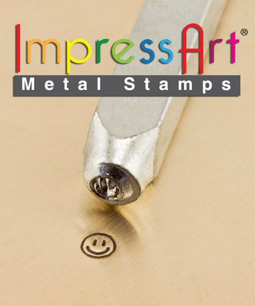 PN6217 = ImpressArt Design Stamp - smiley face 3mm