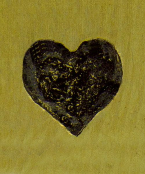 PN6206 = ImpressArt Design Stamp - heart 6mm