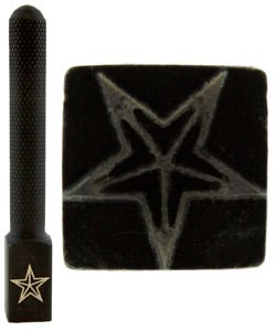 PN5703 = DESIGN STAMP ELITE JUMBO 10mm - star