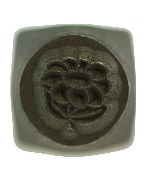 PN5681 = DESIGN STAMP 6mm - flower **CLOSEOUT**