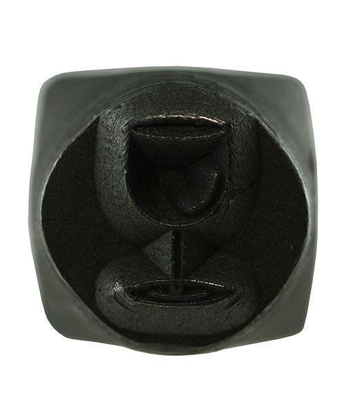 PN5645 = DESIGN STAMP 6mm - wine glass