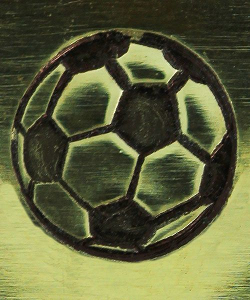 PN5639 = DESIGN STAMP 6mm - soccer ball