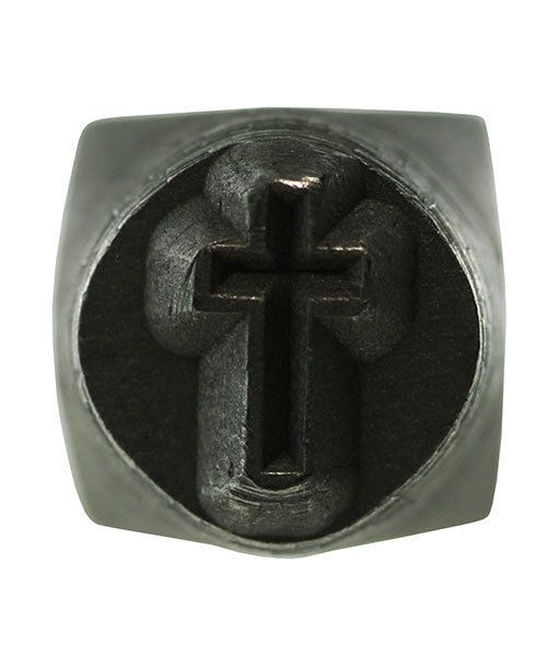 PN5638 = DESIGN STAMP 6mm - 3D cross
