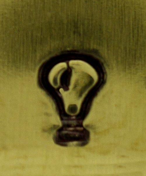 PN5323 = DESIGN STAMP - lightbulb