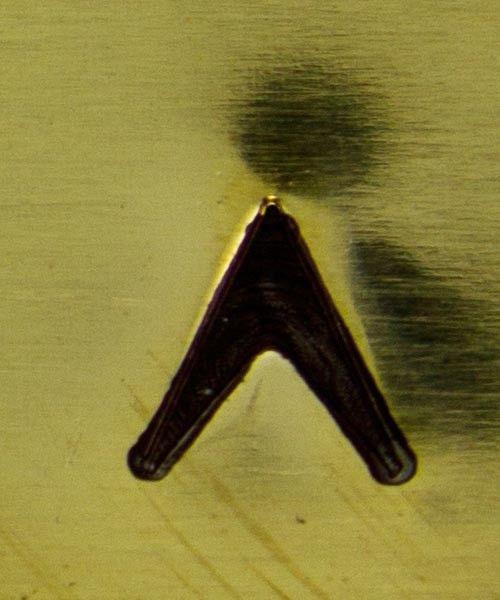 PN5288 = DESIGN STAMP - arrow