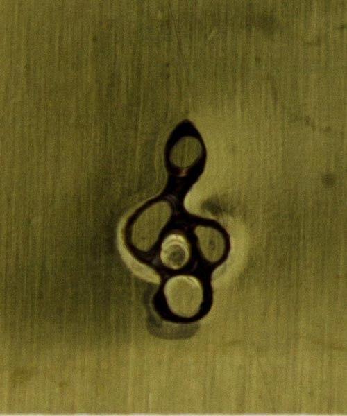 PN5251 = DESIGN STAMP - treble clef **CLOSEOUT**