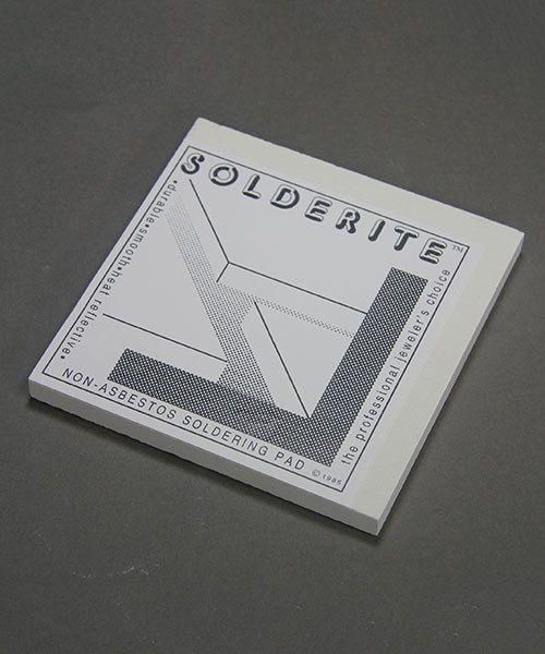 """54.210 = Solderite Soldering Block 6"""" x 6"""" x 1/2"""""""
