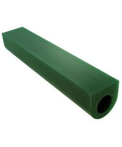 21.02695 = DuMatt Green Flat Top Wax Ring Tube 1-1/8'' x1-1/8''