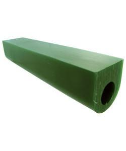 Du-Matt 21.02698 = DuMatt Green Flat Top Wax Ring Tube 1-1/4'' x1-1/4''