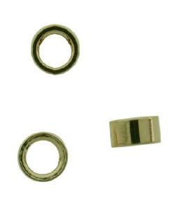 585-49 = CRIMP TUBE  1mm x 2mm HOLE 14ky