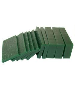 21.02765 = DuMatt Green Carving Wax Slices (1/2lb)