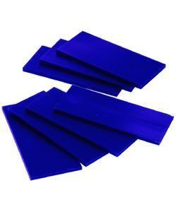 21.02776 = DuMatt Blue Carving Wax Tablets Set of 7