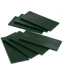 21.02778 = DuMatt Green Carving Wax Tablets Set of 7